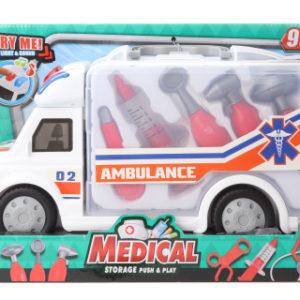Doktorská sada v autě