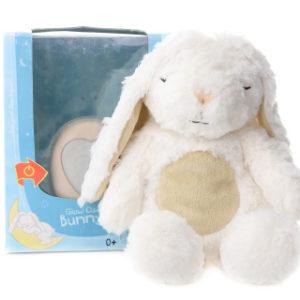 Zajíček Mazlíček svítící - Glow Cuddles Bunny