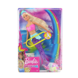 Barbie Svítící mořská panna s pohyblivým ocasem TV 1.4.-30.6.19