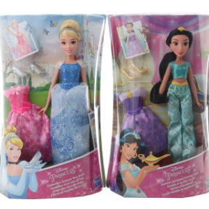 Disney Princess Princezna s náhradními šaty AST