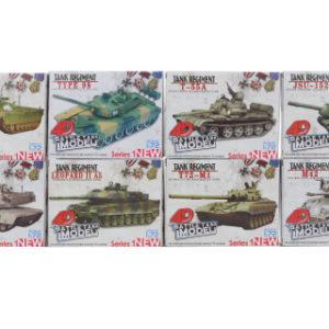 Stavbenice 4D 8 druhů Tank