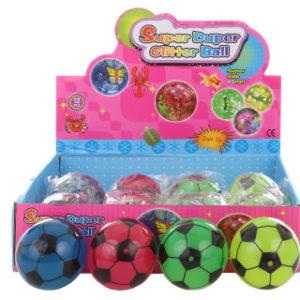 Hopík Fotbalový míč 12/bal svítící