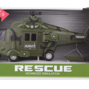 Vojenská helikoptéra baterie