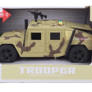 Auto vojenské baterie