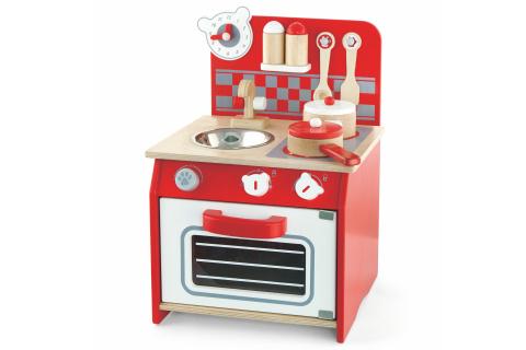 Dřevěná mini kuchyňka