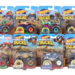 Hot Wheels Monster trucks kaskadérské kousky FYJ44