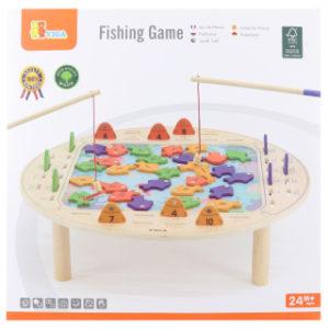Dřevěná hra rybaření