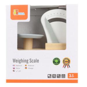 Dřevěná váha