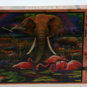 Puzzle Safari 500 dílků 3D
