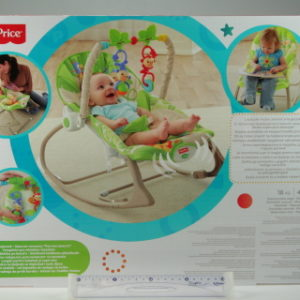 Fisher Price BG sedátko od miminka po batole Rainforest CBF52