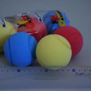 Soft míčky 3 kusy