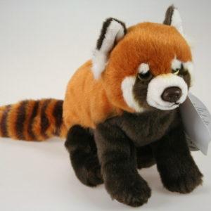 Plyš Panda čevená