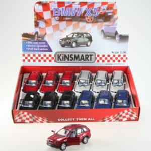 Kinsmart BMW X5 - 12/bal