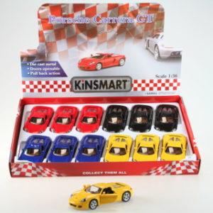 Kinsmart Porsche Carrera GT4 - 12/bal