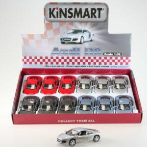 Kinsmart Audi R8 - 12/bal