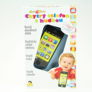 Smarth phone 40 melodií modrý