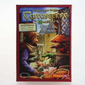 Carcassonne 2.rozšíř Kupci a stavitelé