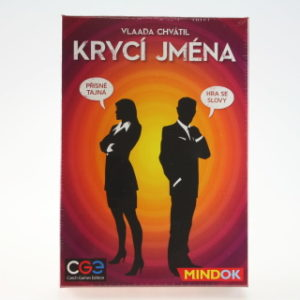 Krycí jména- společenská hra TV 1.10.-31.12.2016