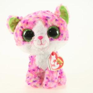 Beanie Boos SOPHIE 15 cm - růžová kočka