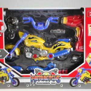 Stavebnice motorka s vrtačkou