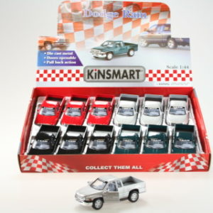 Kinsmart Dodge ram 12/bal