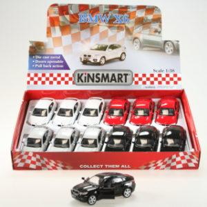 Kinsmart BMW X6 - 12/bal