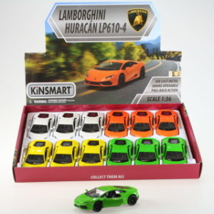 Kinsmart Lamborghini Huracan LP610-4 - 12/bal