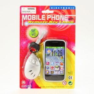 Mobil a klíče baterie