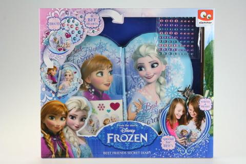 Sada deníčků pro kamarádky Frozen