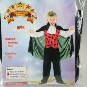 Šaty na karneval - Upír 120 - 130 cm