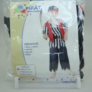 Šaty Pirát 3-4roky