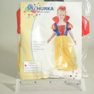 Šaty na karneval - Sněhurka, 92-104 cm