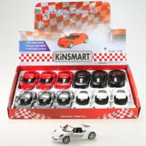 Kinsmart 2013 Alfa Romeo 4C - 12/bal