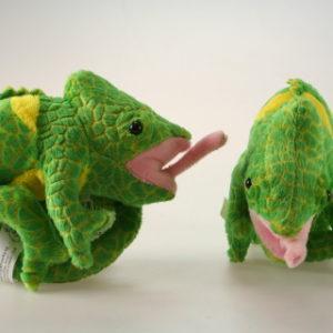 Plyš chameleon