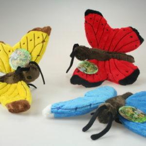 Plyš motýl