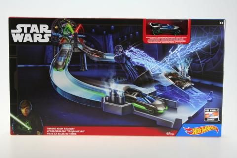 Hot Wheels Star Wars set autíčko s tratí CHB13