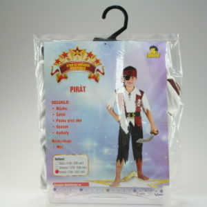 Šaty Pirát 130-140cm
