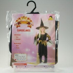 Šaty Čarodějnice 130-140cm