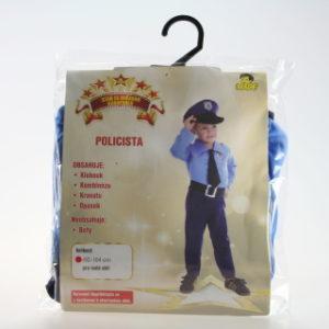 Šaty na karneval - Policista, 92-104 cm
