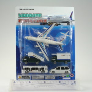 Letadlo+vozový park/kartě