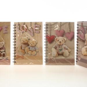 Zápisník medvídek