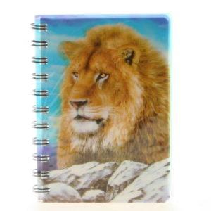 Zápisník lev 3D