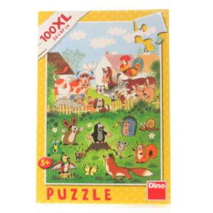 Dino Puzzle 100XL Krtek na statku