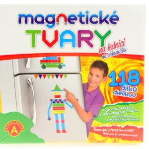 Magnetické tvary na lednici
