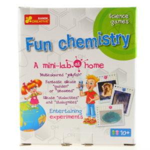 Domácí minilaboratoř - zábavná chemie