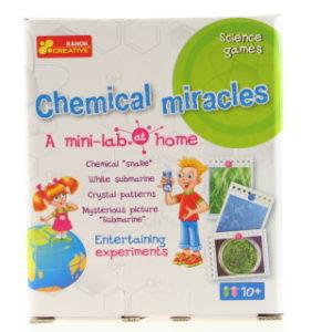 Domácí minilaboratoř - chemické zázraky