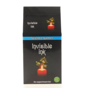 Mini fyzická sada - neviditelný inkoust