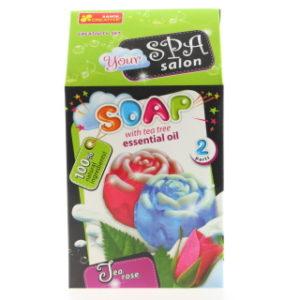 Výroba mýdla - čajová růže