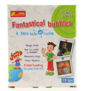 Domácí minilaboratoř - fantastické bubliny