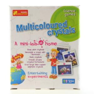 Domácí minilaboratoř - vícebarevné krystaly